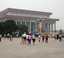 More of Tiananmen Square by Laurie Puglia