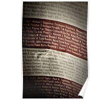 9/11 Flag Poster