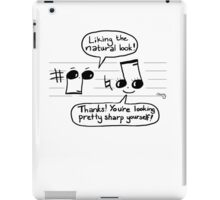 Musical Compliments iPad Case/Skin