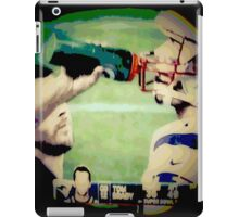 SUPERBOWL art, 2015, abstract photography iPad Case/Skin