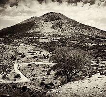 Mycenae Mountain by Nathan T