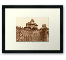 'Allez, Entrez....' Phantom Manor Framed Print