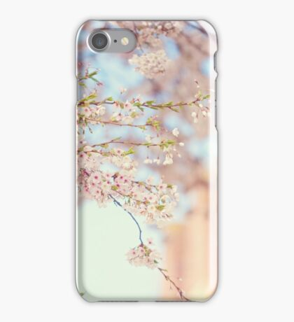 Pink Touch of Softness. Pink Spring in Amsterdam iPhone Case/Skin