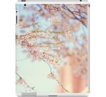 Pink Touch of Softness. Pink Spring in Amsterdam iPad Case/Skin