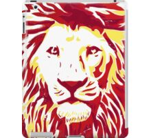 Lovely Lion Stencil (Warm) iPad Case/Skin