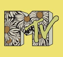 MTV Logo (Daisy) One Piece - Short Sleeve