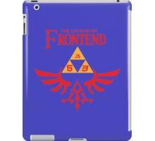 The Legend of Frontend iPad Case/Skin