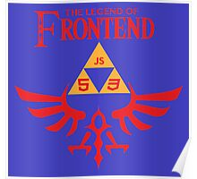 The Legend of Frontend Poster