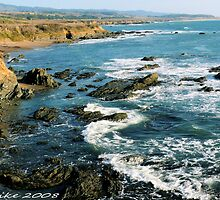 #563  California Coastline by MyInnereyeMike