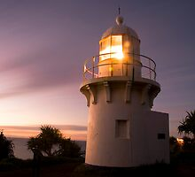 Fingal Head Lighthouse by Heather-Lee Reid