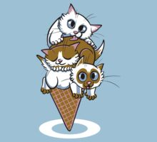 Kitten Cone One Piece - Short Sleeve