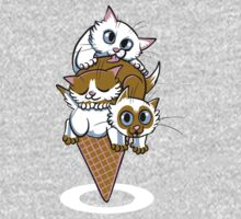 Kitten Cone One Piece - Long Sleeve