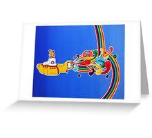 beatles: yellow submarine Greeting Card