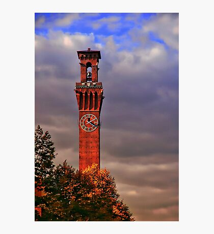 Clock Tower - Waterbury, Connecticut Photographic Print