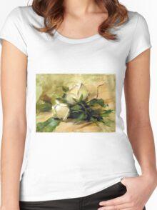 Debbie's Garden Women's Fitted Scoop T-Shirt