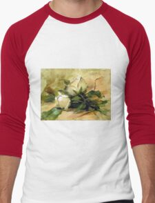 Debbie's Garden Men's Baseball ¾ T-Shirt
