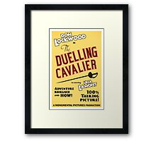 """Singin' in the Rain - """"The Duelling Cavalier"""" (Revisited) Framed Print"""