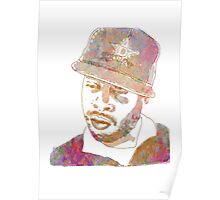 J Dilla Marble Effect Poster