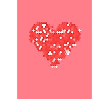 Pixel Love Photographic Print