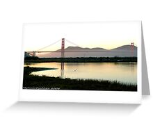 #564   San Francisco Morning  #2 Greeting Card