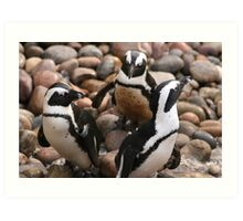 Penguin Pals Art Print