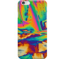 Elements: Lanthanum nitrate under a microscope  iPhone Case/Skin