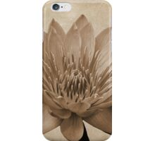 Vintage Water Lily  iPhone Case/Skin