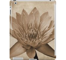 Vintage Water Lily  iPad Case/Skin