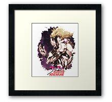 JoJo's Bizarre Adventure - Dio Brando English Logo Framed Print