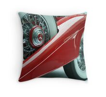 Sheer class Throw Pillow