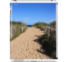 Chestnut Fence To The Beach iPad Case/Skin