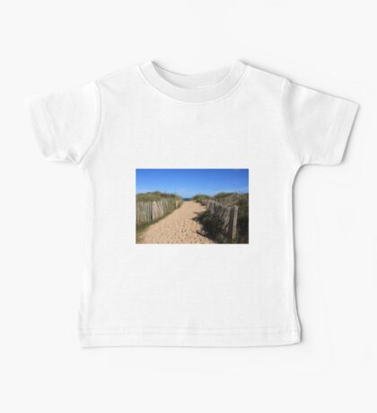 Chestnut Fence To The Beach Baby Tee