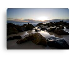 Miami Beach Sunrise Canvas Print