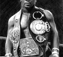 Mike Tyson Pencil Drawing by daverives