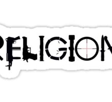 Religion Small Sticker