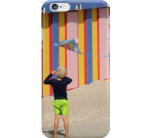 Kite kid iPhone Case/Skin