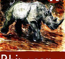 R is for Rhinoceros by DavidDonovan