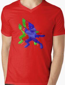 FALCO PRINT Mens V-Neck T-Shirt