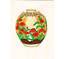 Poppy Pot Photographic Print