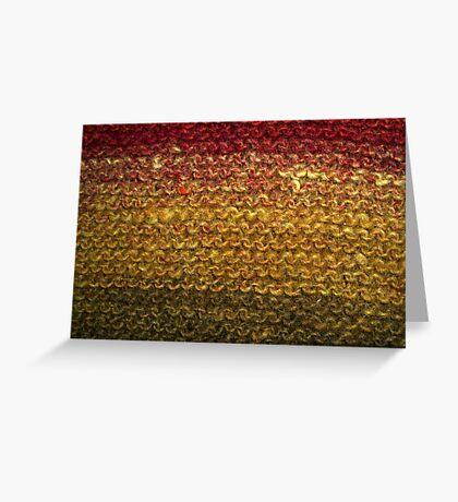 Woollen Sunset Greeting Card