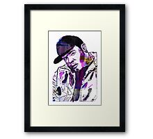 Funky DL (Purple) Framed Print