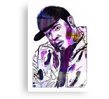 Funky DL (Purple) Canvas Print