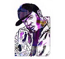 Funky DL (Purple) Photographic Print