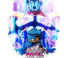 JoJo's Bizarre Adventure - Jotaro Kujo English Logo by Onimihawk