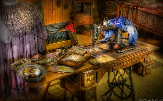 The Sewing Machine IV by Mike  Savad