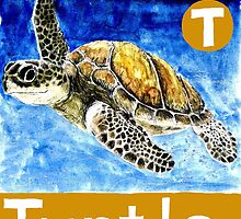 T is for Turtle by DavidDonovan