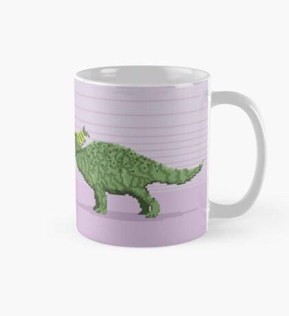 Pixel Pachyrhinosaurus Mug