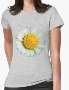 Big daisy  Womens Fitted T-Shirt