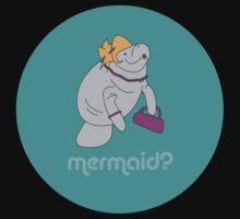 Mermaid vs. Manitee by FuggleDoofer