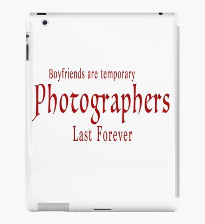 Boyfriends red iPad Case/Skin